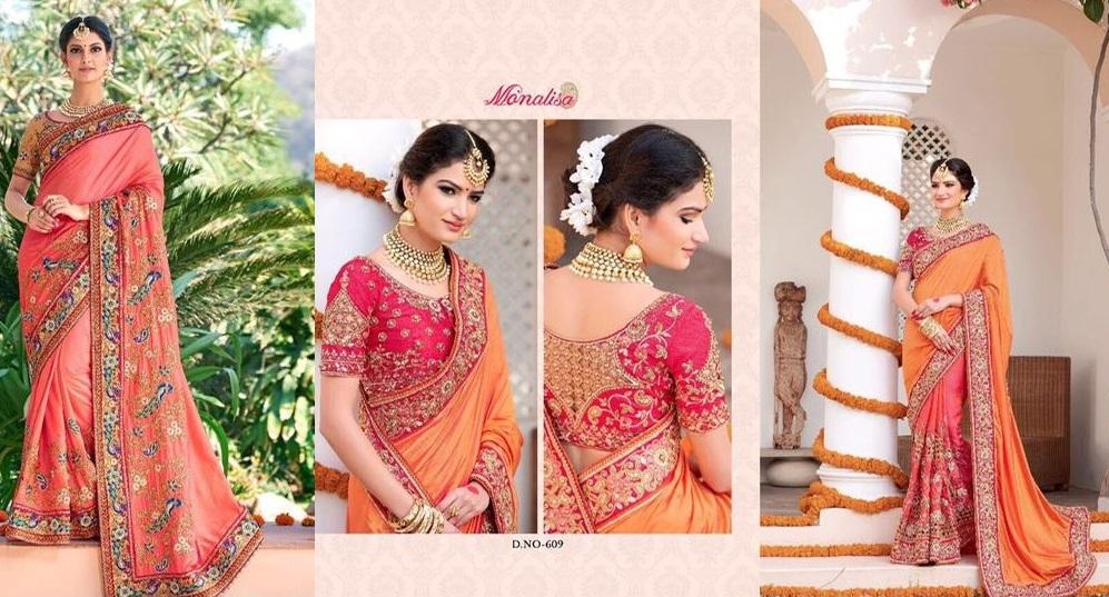 Monalisa Designer Saree