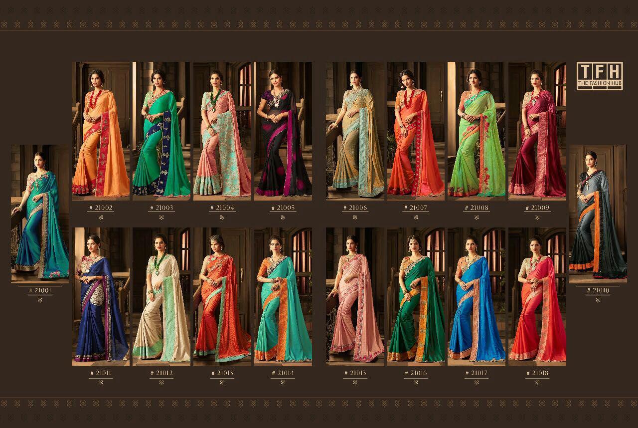 Tfh The Fashion Hub Sarees Online
