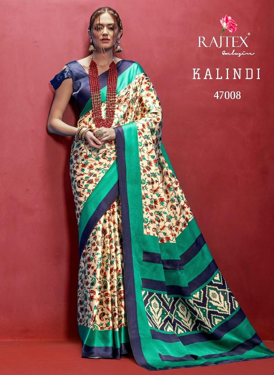 Rajtex Kalindi Italian Crepe Sarees — Womenz Fashion