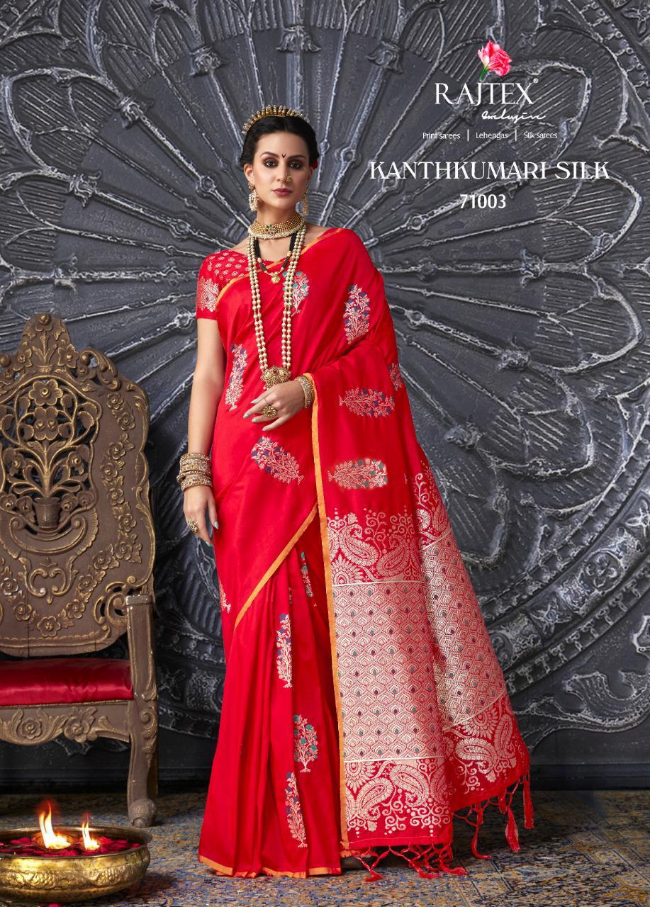 c42499d765e Rajtex Kanthkumari Handloom Silk Weaving Sarees — Womenz Fashion